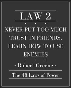 48 Laws Of Power Quotes Best Learn To Master Your Emotions The 48 Laws Of Power  Life