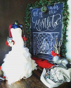 """Meet me under the mistletoe..."" ♡♡♡ #sincerelythebride  #winterwidow #bridalfashion #bridetobe #igbride #weddinginspiration #weloveweddings #weddings #makingdreamscometrue #comeseeus #dailybride #instabride #followme #luxury #pdxbridal #romance #vintage #upperleft #Oregon #Washington #boutique"
