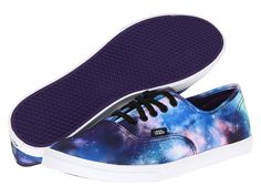 "A stylish pair of cosmic sneakers that scream, ""Look at my feet!"""