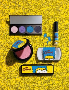 Q&A with Marge Simpson on the New MAC Cosmetics x The Simpsons Collaboration Mac Make Up, Make Me Up, How To Make, Mac Collection, Makeup Collection, Mac Cosmetics, Beauty And Fashion, Nerd Fashion, Fashion Tape