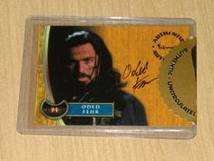 Inkworks The Mummy Returns autograph Oded Fehr A3