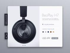 B&O BeoPlay H7  by Jason Zigrino