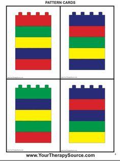 Lego Duplo, Lego Math, Lego Activities, Preschool Activities, Lego Therapy, Lego Challenge, Material Didático, Lego Blocks, Preschool Math