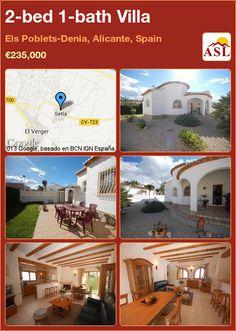 2-bed 1-bath Villa in Els Poblets-Denia, Alicante, Spain ►€235,000 #PropertyForSaleInSpain