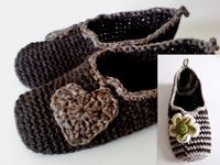 PATTERN Crochet Slippers TRAVELLER