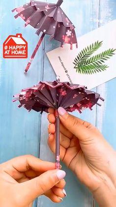 Diy Crafts Hacks, Diy Crafts For Gifts, Diy Arts And Crafts, Creative Crafts, Cool Paper Crafts, Paper Flowers Craft, Paper Crafts Origami, Origami Flowers, Instruções Origami