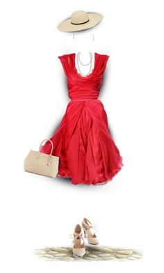 """She's Got Her Red Dress On!"" by rboowybe ❤ liked on Polyvore featuring art and contestentry"