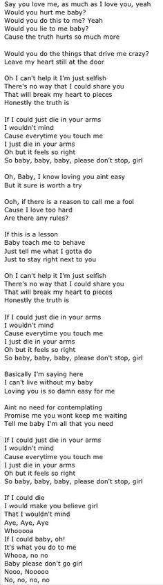 flirting signs he likes you lyrics justin bieber chords easy