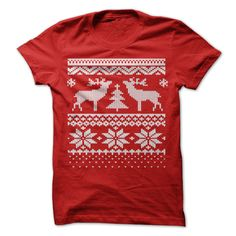 (Cheap) Ugly Christmas Sweater T Shirt - Order Now