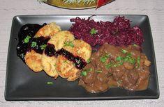 Gombás szarvasragu Tandoori Chicken, Pesto, Dishes, Ethnic Recipes, Food, Hungarian Recipes, Plate, Essen, Utensils