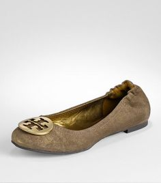 Classic!  Tory Burch: Powder Suede Reva Ballet Flat.  I'd love one in every color, please.
