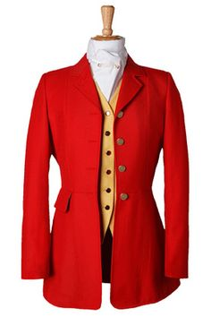 Ladies Harkaway Lightweight Scarlet Coat - Horse Country Store. . . rather nice.