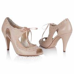 d1d25e36ba4d Zapatos de novia Rachel Simpson colección 2016