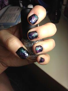 Galaxy nails. I need a tutorial stat