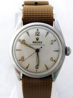 vintage Rolex Oyster Perpetual. My Grandfather had this,I loved the way the hands glowed in the dark.