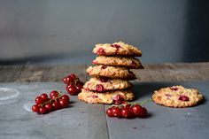 Cakey Red Currant and Oat Cookies : eat in my kitchen