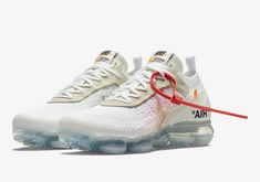 The Off-White x Nike Vapormax White Drops This Weekend