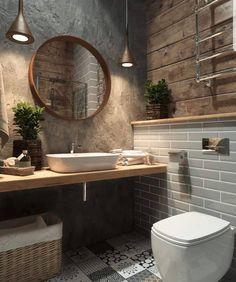 incredible bathroom remodeling luxury bathroom double shower bathroom D – diy bathroom decor Bathroom Interior Design, Interior Design Living Room, Bathroom Designs, Interior Livingroom, Diy Interior, Industrial Bathroom Design, Interior Modern, Bathtub Designs, Interior Decorating