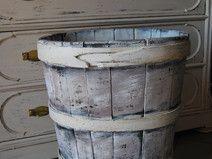 Botte in legno in stile shabby/chippy