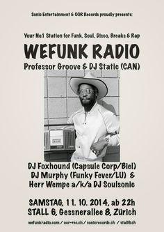 Herr Wempe a/k/a DJ Soulsonic: WEFUNK RADIO sind wieder da!