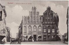 ROSTOCK 1902 Gothische Häuser am Schilde