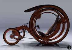 """steampunktendencies: """" Concept by Roman Dolzhenko Check out our groups for more • Facebook • Google+ """" What a wonderful contraption…but could do with some armor if you are being attacked by the..."""