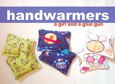 DIY Handwarmers from A Girl And A Glue Gun
