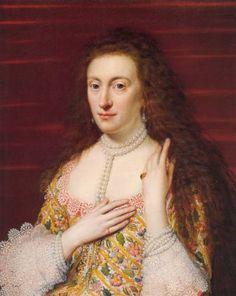 Princess Elizabeth of England, Queen of Bohemia -- also known as the Winter Queen.