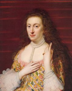 Elizabeth of England, Queen of Bohemia, daughter of James I, sister of Charles I and goddaughter of Elizabeth I.
