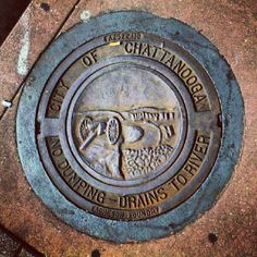 #chattanooga #tennessee #drain #sewer #city #downtown - @dopeb1tch | Instagram