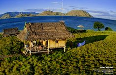 Hut in Sumbawa's Eight Islands, Indonesia