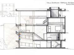 Image result for villa shodhan drawings