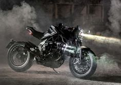 Today MV Agusta unveils the new RVS#1, the first product of the Brand RVS - Reparto Veicoli Speciali, the new