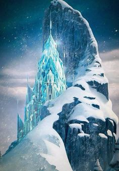 But it's a castle! Made of ice! This is like my life!! ;)