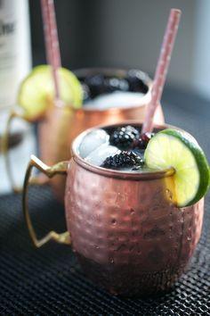 Blackberry Moscow Mule | In Good Taste