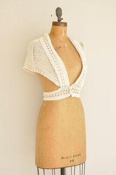 1960's Crochet Shrug
