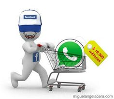 Resumen gráfico de la compra de WhatsApp por parte de Facebook