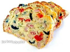 Chec aperitiv Romanian Desserts, Romanian Food, Frittata, Baby Food Recipes, Cooking Recipes, Cheese Party, Appetisers, Copycat Recipes, Food To Make