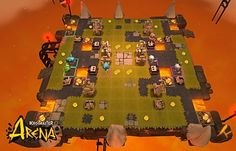 Screenshot Krosmaster Arena 10 - Screenshots - DOFUS Media - Krosmaster - Become master of the Krosmoz!