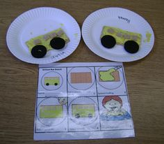 The Wheels on the Bus -edible craft Preschool Letter B, Preschool Shapes, Fall Preschool, School Buses, Tot School, Bus Safety, Year Planning, September Crafts, Mo Willems