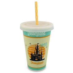 Disneyland Ceramic Drink Cup Replica. I have this cup and I want to use it as color inspiration.