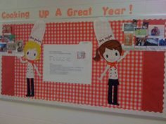 2013 2014 food theme on pinterest cooking food cooking for Bulletin board ideas for kitchen