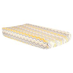 Trend Lab Buttercup Zigzag Chevron Changing Pad Cover - 100908
