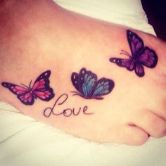 My First tattoo :) #tattoo #butterfly #love