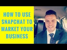 [How To] Use Snapchat's NEW Feature To Market Your Business (July 2017) - YouTube