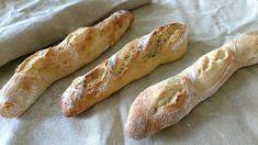 """Seit ich dieses Rezept ausprobiert habe, nenne ich die Baguettes nur noch """"Präsidentenbaguettes"""". Farine hat sich auf einer Reise nach Paris in der Bäckerei aufgehalten, die im Jahre 2006 ihr Baguette an Frankreichs Präsidenten liefern durfte. Jean-Pierre Cohier erhielt 2006 die Auszeichnung als bester Baguette-Bäcker, Jean-Noël Julien durfte sich bereits 1995 darüber freuen. Das Besondere Weiterlesen..."""