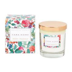 Pretty packaging design Zara Home New Collection Candle Branding, Candle Packaging, Candle Labels, Perfume Packaging, Soap Packaging, Pretty Packaging, Zara Home, Home Spray, Suncatcher