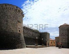 fortress in Krk, Croatia