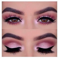 Valentine's Day Eye Looks ❤ liked on Polyvore featuring beauty products