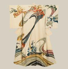 Painted Kimono